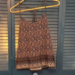 Hollister NWT patterned tank top